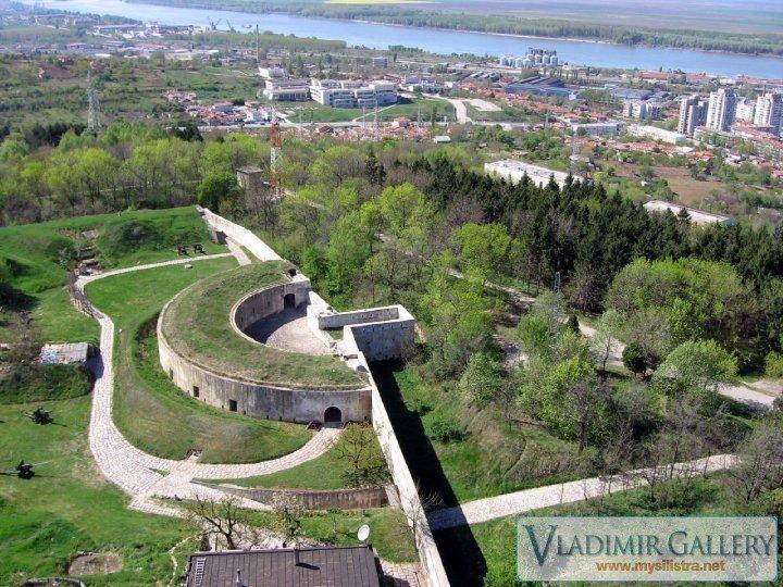 Крепостта и Силистра