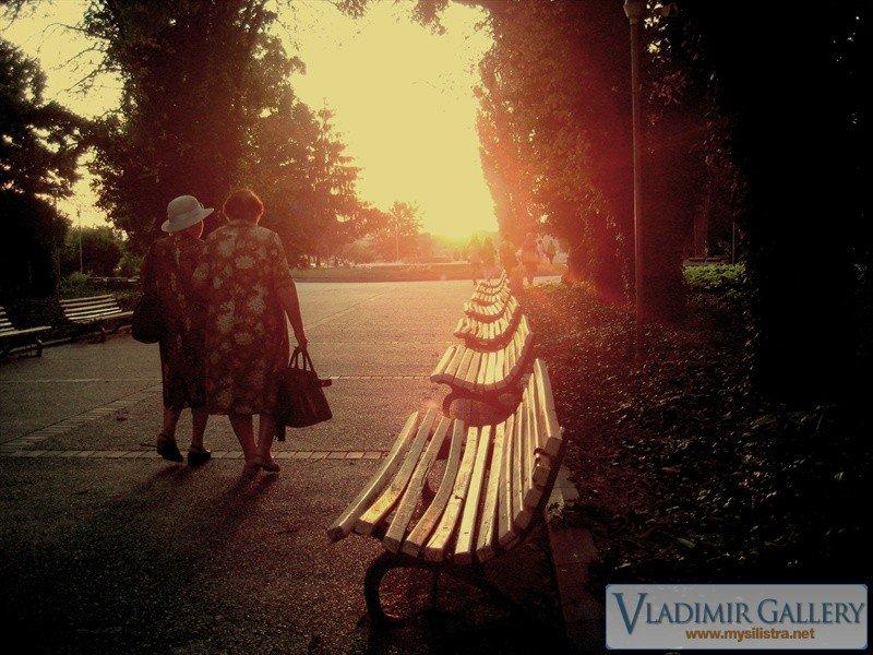 Залез в Дунавски парк