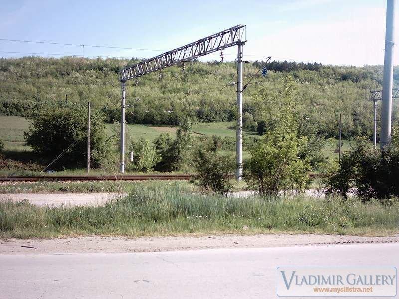 До железопътна линия