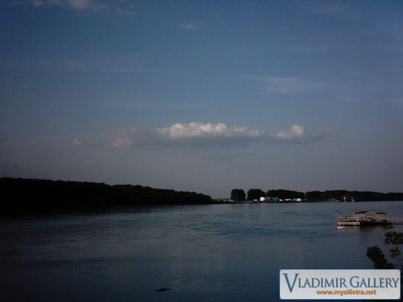 Река Дунав привечер