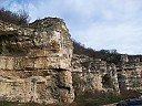 Скалните манастири до с. Войново