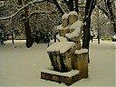 Статуя в Дунавски парк