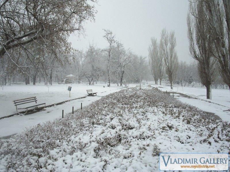 Зима в парка