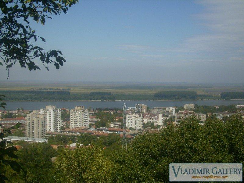 Западната част на град Силистра