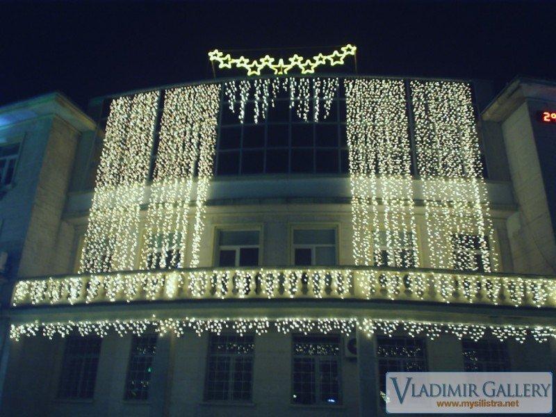 Новогодишна украса в Силистра