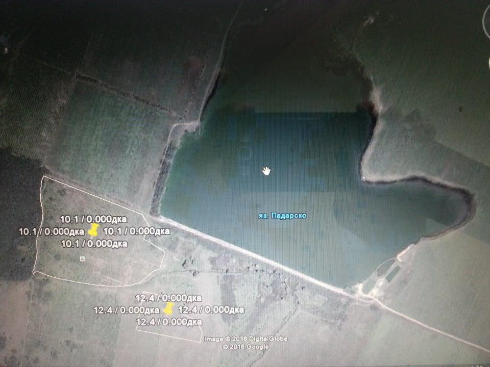 Продавам 135 дка ниви в землището на с. Пъдарско