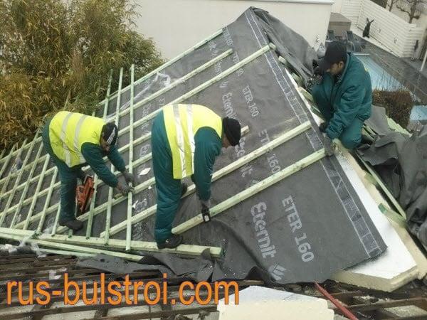Ремонт на покриви и хидроизолации в цялата страна.