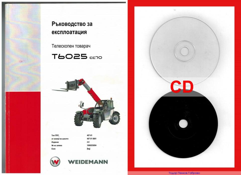 WEIDEMANN ръководство експлоатация CD