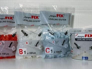Magnefix система за нивелация на плочки