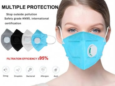N 95 Mouth Mask FFP2 KN95 Protective Level Masks Protective