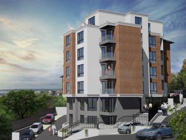 Тристаен апартамент с морска панорама във Варна